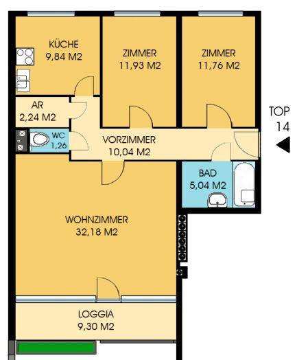 Immobilie von Wien-Süd in 2564 Weissenbach, Cornidesstraße 2-6 #2