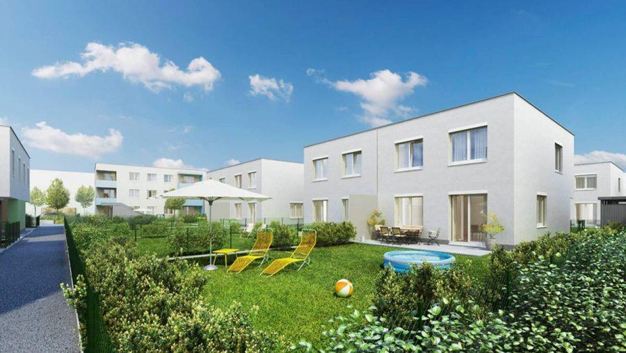 Immobilie von Wien-Süd in 4600 Wels, Hinterschweigerstr. 39-45 - Doppelhäuser #0