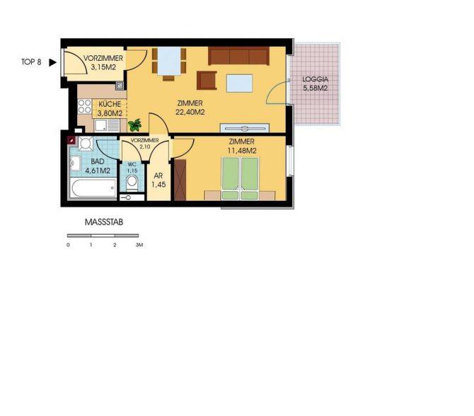 Immobilie von Wien-Süd in 7503 Großpetersdorf, Widderweg 1, 2, 4 #2
