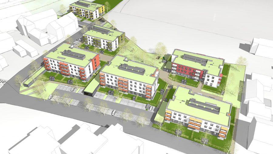 Immobilie von Wien-Süd in 4651 Stadl-Paura, Klosterleiten/Salzstraße - Junges Wohnen #1