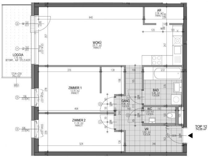 Immobilie von Wien-Süd in 4690 Schwanenstadt, Florianistraße 4+5, Bauteil 1 #3