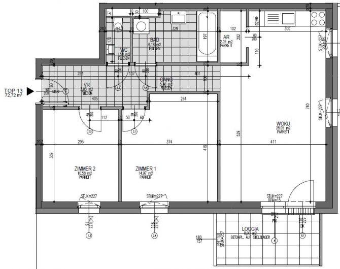 Immobilie von Wien-Süd in 4690 Schwanenstadt, Florianistraße 6+7, Bauteil 2 #4