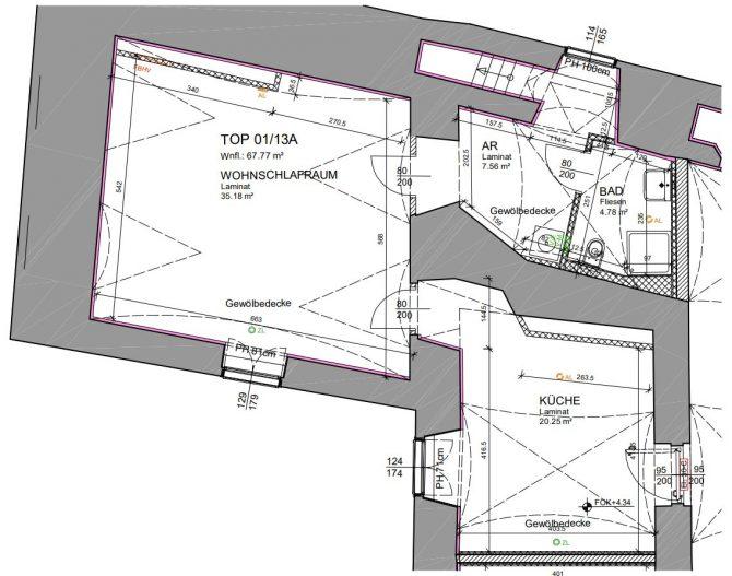 Immobilie von Wien-Süd in 2460 Bruck an der Leitha, Johngasse 1/Hainburger Str. 8 #5