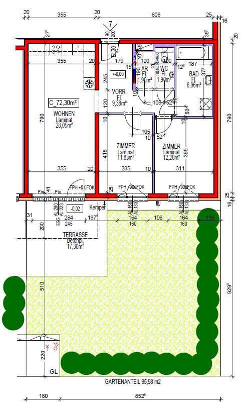 Immobilie von Wien-Süd in 2620 Neunkirchen, Dr. Stockhammergasse 8 #3