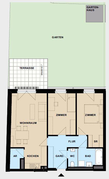 Immobilie von Wien-Süd in 2700 Wiener Neustadt, Neudörfler Straße 37, Bauteil 2 #2