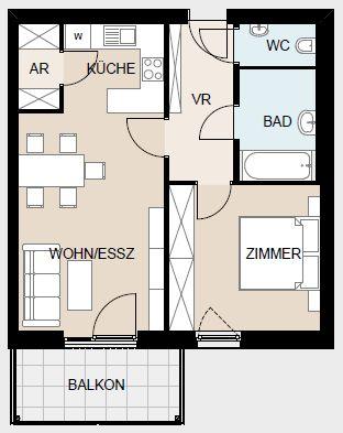 Immobilie von Wien-Süd in 2630 Ternitz-Pottschach, Webereistraße 6, Bauteil 2 #3