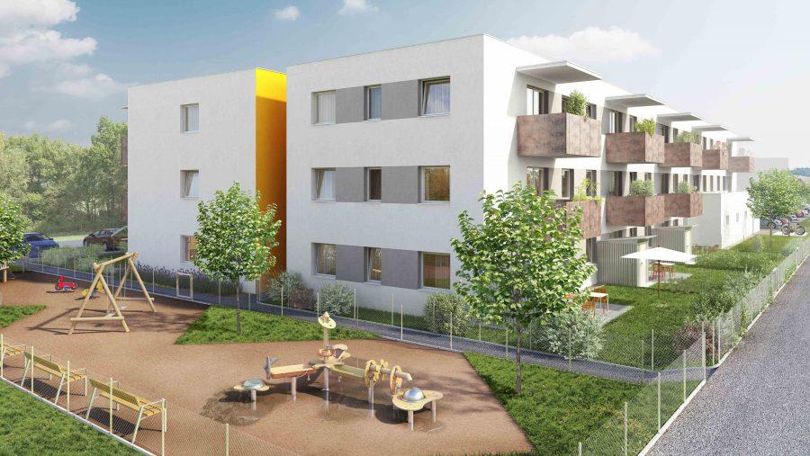 Immobilie von Wien-Süd in 2460 Bruck an der Leitha, Fliedergasse 1/Stiege 4 #0